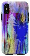 Windmill Abstract Painting IPhone X Tough Case