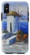 Windmill In Greece IPhone X Tough Case