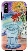 Wine And Flowers 2 IPhone X Tough Case