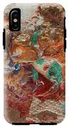 Winter Sunrise Abstract Painting IPhone X Tough Case