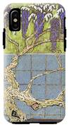 Wisteria IPhone X Tough Case