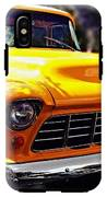 Yellow Chevy IPhone X Tough Case