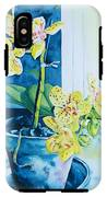 Yellow Orchid IPhone X Tough Case