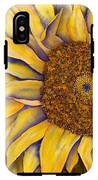 Yellow Sunflower IPhone X Tough Case