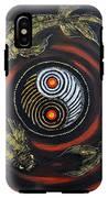 Yin Yang - Koi Fish IPhone X Tough Case