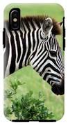 Zebra IPhone X Tough Case