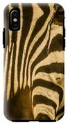 Zebra Eye IPhone X Tough Case