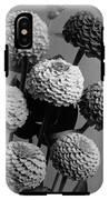 Zinnia Lilliput Flowers IPhone X Tough Case