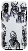 Zombies IPhone X Tough Case