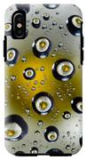 Flowers In Water Drops IPhone X Tough Case
