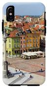 Old Town In Warsaw IPhone X Tough Case