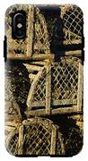 Wooden Lobster Traps IPhone X Tough Case