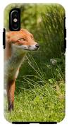 A British Red Fox IPhone X Tough Case