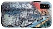 American Civil War, Farraguts Fleet IPhone X Tough Case