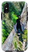 Anhinga On A Cyprus IPhone X Tough Case