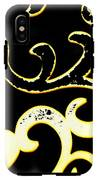Art Deco Branchlets IPhone X Tough Case