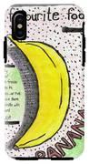 Banana IPhone X Tough Case