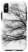 Bare Tree Silhouette IPhone X Tough Case