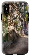 Bike - Ny - Greenwich Village - The Green District IPhone X Tough Case