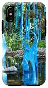Blue Flamingos  IPhone X Tough Case