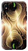 Caribbean Wave - The Beauty Of Simple Fractals IPhone X Tough Case