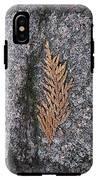 Cedar On Granite IPhone X Tough Case