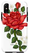 Christmas Rose 2011 IPhone X Tough Case
