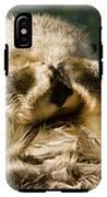 Closeup Of A Captive Sea Otter Covering IPhone X Tough Case