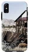 Deserted Desert Dwelling IPhone X Tough Case