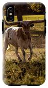 Don't Mess With Texas ..... Long Horns That Is  IPhone X Tough Case
