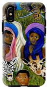 Earthangels Abeni And Adesina From Africa IPhone X Tough Case