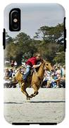 Flying At The Marsh Tacky Races IPhone X Tough Case
