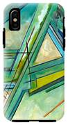 Interior Designers Abstract Lines Art Decorative G88gle Map Print IPhone X Tough Case
