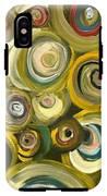 Green Abstract Feeling IPhone X Tough Case