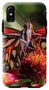 Gulf Fritillary Butterfly IPhone X Tough Case