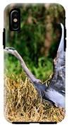 Heron Taking To Flight IPhone X Tough Case