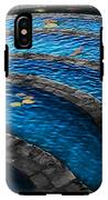 Koi Blue IPhone X Tough Case