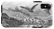 Lemming Migration IPhone X Tough Case