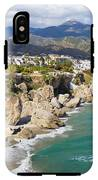 Nerja Town On Costa Del Sol In Spain IPhone X Tough Case