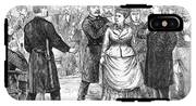 New York Police Raid, 1875 IPhone X Tough Case
