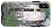 Old Covered Bridge IPhone X Tough Case