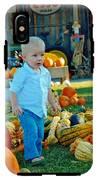 Pumpkin IPhone X Tough Case