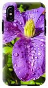 Purple Rain IPhone X Tough Case