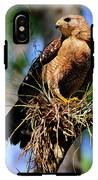 Red-shouldered Hawk IPhone X Tough Case