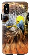 Red-tailed Hawk Portrait IPhone X Tough Case