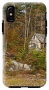 Remote Vermont Cabin IPhone X Tough Case