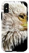 Ruffled Bald Eagle IPhone X Tough Case