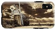 Sepia Sky Windmill IPhone X Tough Case
