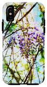 Tangled Wisteria IPhone X Tough Case