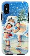The Figure Skater 4 IPhone X Tough Case